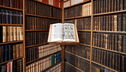 Affligem-Abbey-Library-Book_e