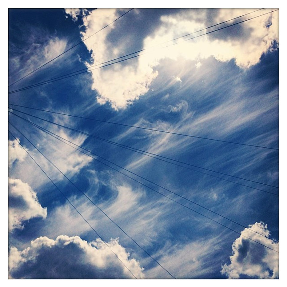 Cirrus-clouds